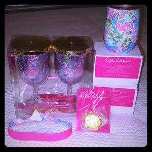 6 piece Lilly Pulitzer beach and pool set